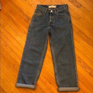Classic Levi's Straight Leg Jeans